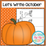 Graphic Organizers for October Themed Writing