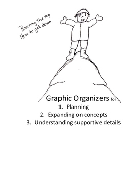 Graphic Organizers for Planning, Understanding Main Idea, and Concept Details