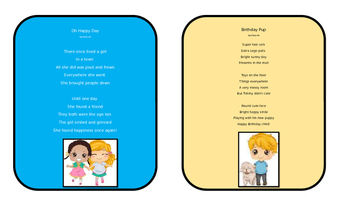 Graphic Organizers for Poetry