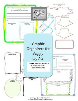 Graphic Organizers for Poppy by Avi
