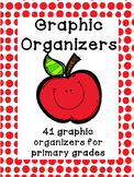 Graphic Organizers: 41 Reading Graphic Organizers Primary Grades