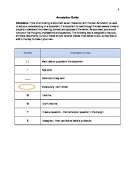 Graphic Organizers for Primary Source Document Analysis