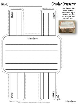 Graphic Organizers for Reading Comprehension Kindergarten -3rd