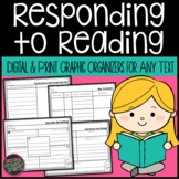 Graphic Organizers for Reading Comprehension Skills 2nd Grade & 3rd Grade