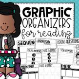 Graphic Organizers for Reading Comprehension Skills {Printable & Digital}