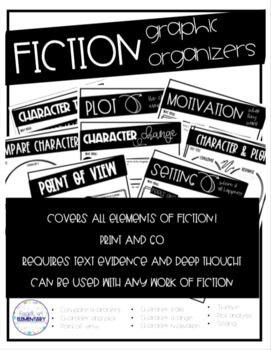 Graphic Organizers for Reading Fiction