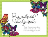 Graphic Organizers for Reading Nonfiction aligned with fou