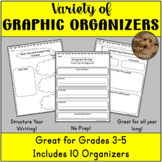 Graphic Organizers to Support Reading and Writing - Grades 3-6