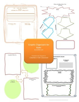 Graphic Organizers for Rules