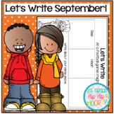 Graphic Organizers for September Themed Writing