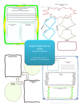 Graphic Organizers for Shiloh