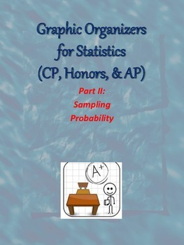Graphic Organizers for Statistics 2 - Sampling & Probability