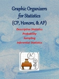 Graphic Organizers for Statistics - ALL THREE PARTS
