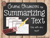 Graphic Organizers for Summarizing Text