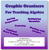 Graphic Organizers for Teaching Algebra