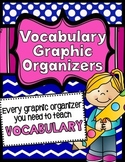 Graphic Organizers for Teaching Vocabulary, Common Core RL