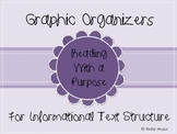 Graphic Organizers for Informational Text Structure