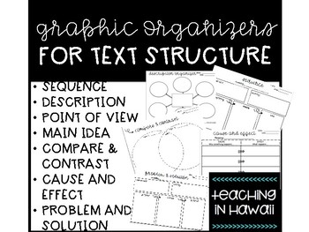 Graphic Organizers for Text Structure