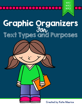 Graphic Organizers for Text Types and Purposes {W.K.1,2 &3}
