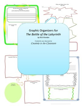 Graphic Organizers for The Battle of Labryinth