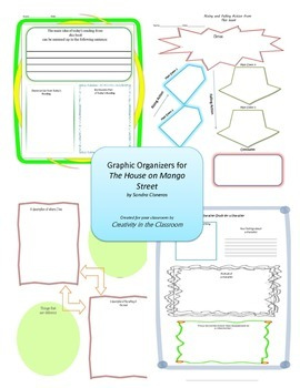 Graphic Organizers for The House on Mango Street