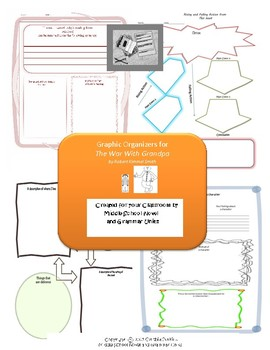 Graphic Organizers for The War with Grandpa