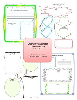 Graphic Organizers for The Luckiest Girl