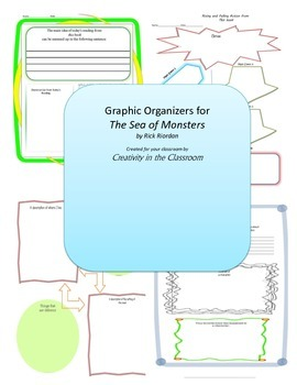 Graphic Organizers for The Sea of Monsters