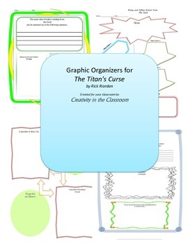 Graphic Organizers for The Titan's Curse
