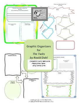 Graphic Organizers for The Twits