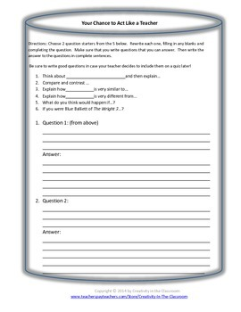 Graphic Organizers for The Wright 3