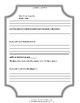 Graphic Organizers for Third Grade Angels