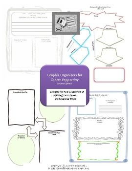 Graphic Organizers for Tooter Pepperday