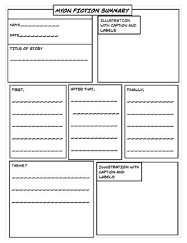 Graphic Organizers for Videos, MyOn, and/or Reading