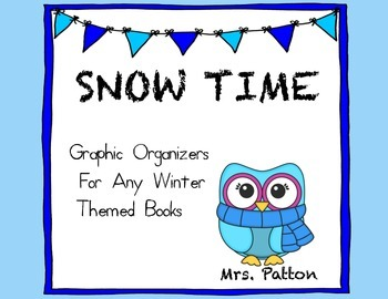 Graphic Organizers for Winter Snow Themed Books