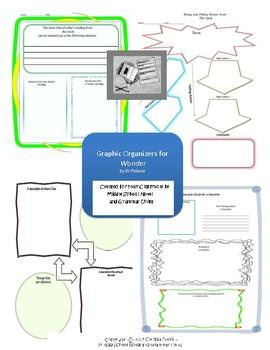 Graphic Organizers for Wonder