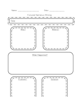 Graphic Organizers for Writing