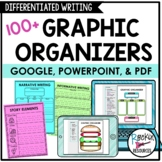 Graphic Organizers for Writing (Differentiated Graphic Org