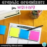 Graphic Organizers for Writing: Narrative, Argumentative,