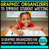 Graphic Organizers for Writing   Writing Graphic Organizers   Writing Process