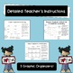 Graphic Organizers for Writing in Math Class
