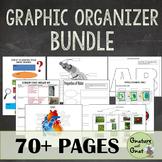 Biology Graphic Organizer Bundle- Cells, Photosynthesis, 6
