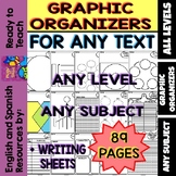 Graphic Organizers for any Text, Level and/or Subject (89 pages)