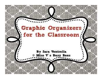 Graphic Organizers for the Classroom Pack