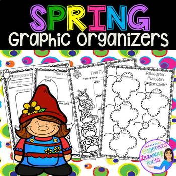 Graphic Organizers for Reading, Spring Season