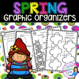 Reading Graphic Organizers for Reading Comprehension: Spring Themed