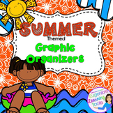 Reading Graphic Organizers for Reading Comprehension: Summer Themed