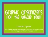 Graphic Organizers for the Whole Year!