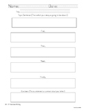 Graphic Organizers for the Writing Process