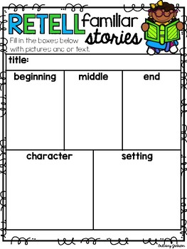 Graphic Organizers for use with Epic Books for Kids and Pic Collage